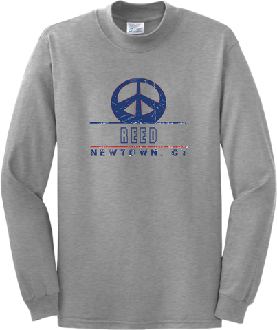 Reed Long Sleeve Peace T-Shirt