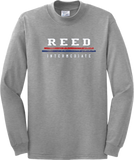 Reed Long Sleeve Text T-Shirt