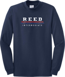 Reed Long Sleeve Text T-Shirt 5400/B