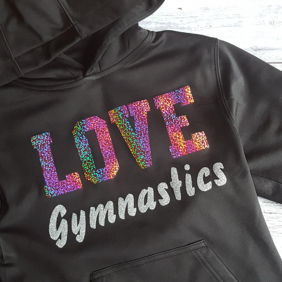 Love Gymnastics Performance Fleece Hoodie F244