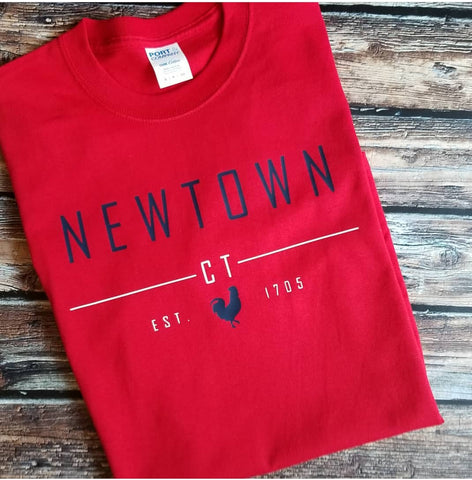 Newtown CT America Tshirt