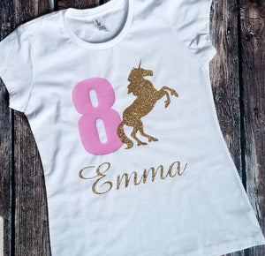 Birthday Unicorn T-Shirt