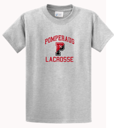 Pomperaug Lacrosse Cotton T-Shirt PC61