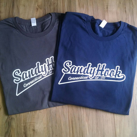 Baseball Style Premium Sandy Hook T-Shirt
