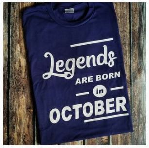 LEGENDS Birthday T-shirt