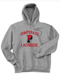 Pomperaug Lacrosse Cotton Hoodie PC90YH