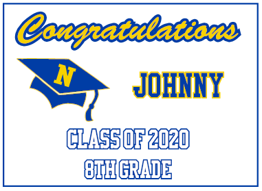 Class of Custom YARD SIGNS