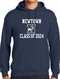 NMS Class of 2024 Hooded Sweatshirt MULTIPLE COLORS 18500/B