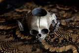Satyr Fetal Skull Tealight Holder