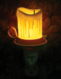 Drippy Old Candle Night Light