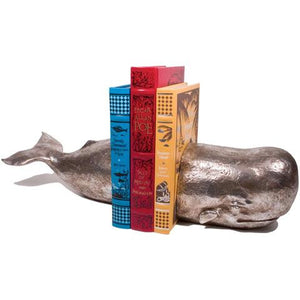 Whale Bookend Set