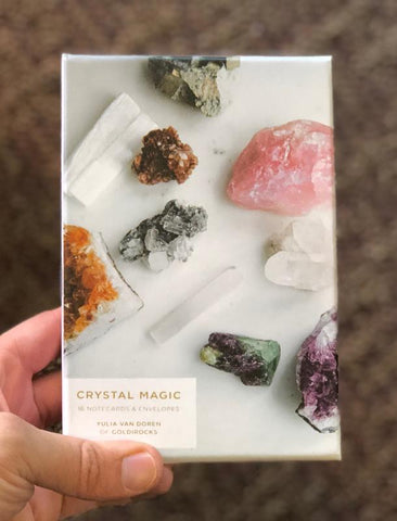 Crystal Magic Notecards: 16 Notecards for Love, Strength and Happiness