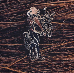 Krampus Pin