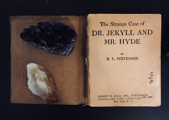 Dr. Jekyll and Mr. Hyde Vintage Mini Book