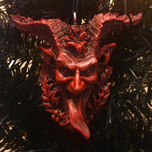 Krampus Face Ornament