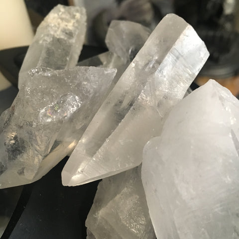 Quartz - Raw Crystal Points
