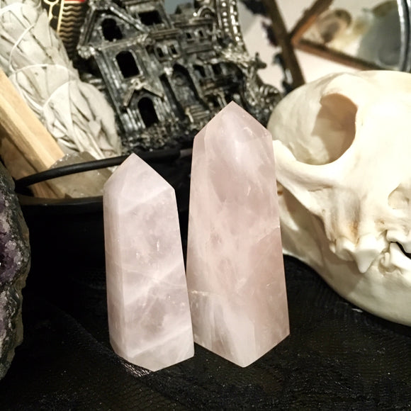 Rose Quartz - Polished Point