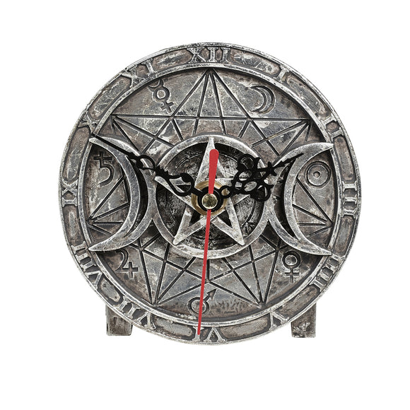 Wiccan Desk Clock