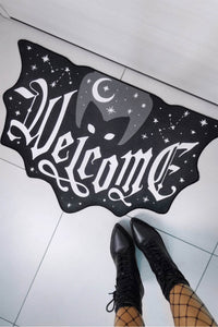 Bat Welcome Floor Mat