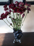 Black Anatomical Heart Vase