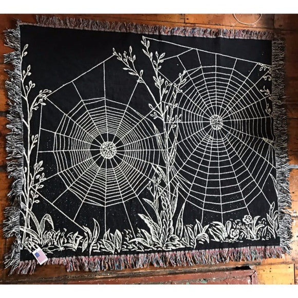 Spider Web Blanket