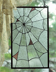 Spider Web Leaded Glass