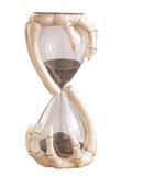 Skeleton Hands Sand Timer