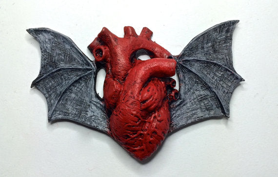 Bat Winged Magnet