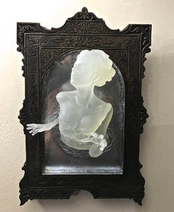 Ghost in the Mirror Wall Plaque