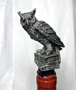 Horned Owl Bottle Stopper