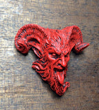 Krampus 2 Red Magnet