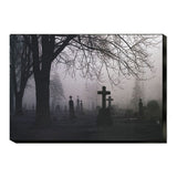 Eerie Fog Stretched Canvas