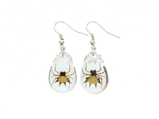 Spiny Spider Earrings