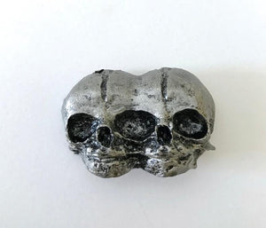 Conjoined Twins Pewter Magnet