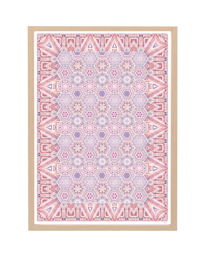 Magic Carpet Print - Pink