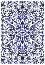 Load image into Gallery viewer, Otomi Print - Navy
