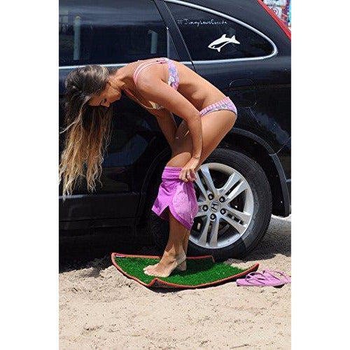 Dorsal Surfer Changing Pad Surf Grass Mat for Wetsuit Change