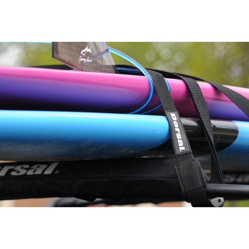 Dorsal Aero Rack Pads 19 Inch and 15 ft Straps for Car Surfboard Kayak SUP Snowboard - DORSAL® Surf Shop - Dorsalfins.com‎