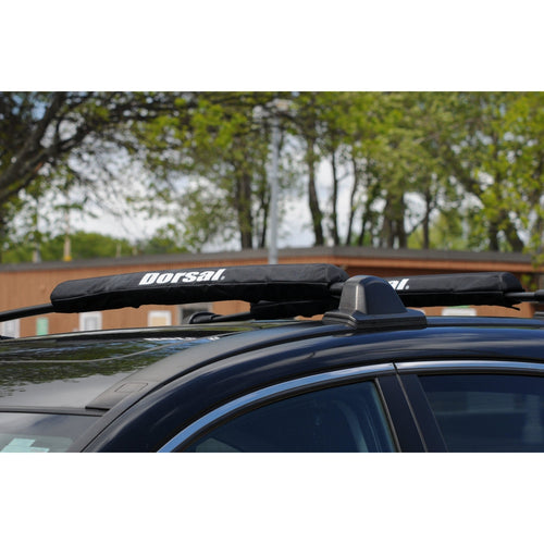 Dorsal Aero Rack Pads for Car Surfboard Kayak SUP Snowboard Wide 28 Inch Long [Pair] - DORSAL® Surf Shop - Dorsalfins.com‎