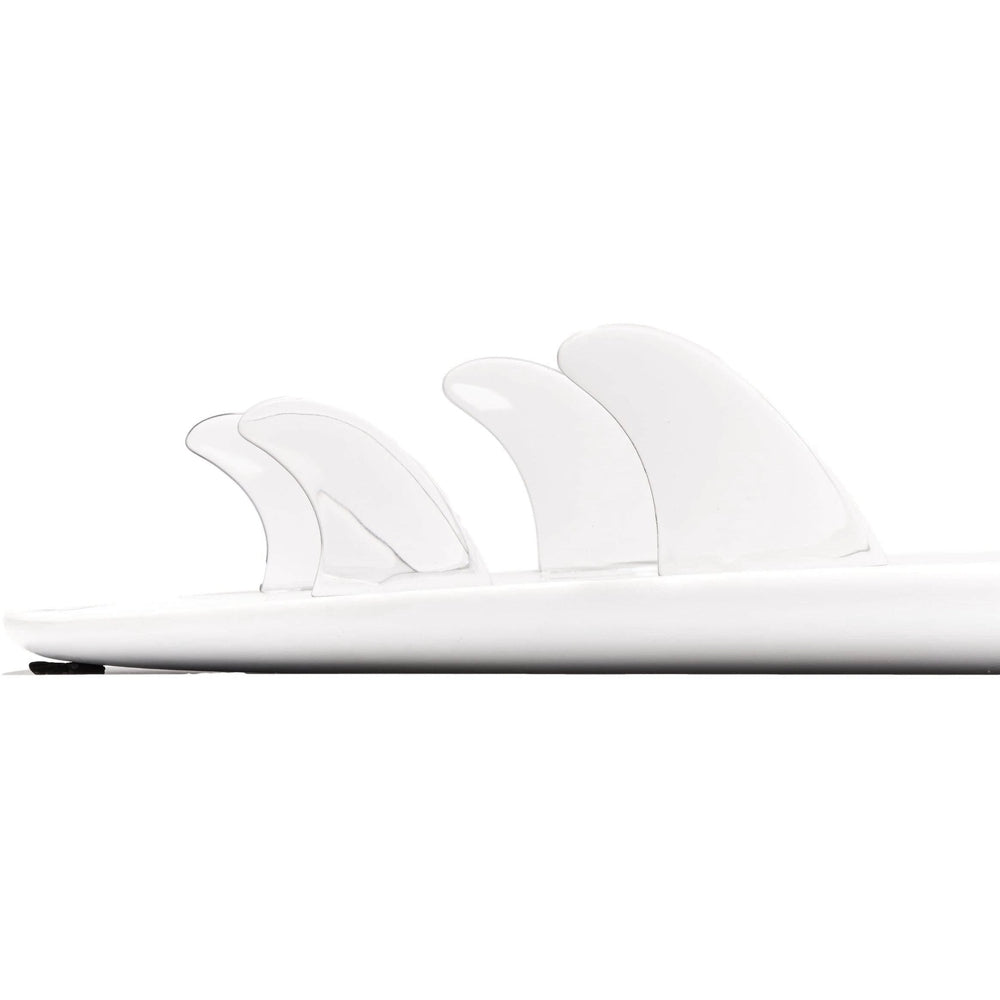Dorsal Performance Flexrez Core Surfboard Quad Surf Fins (4) FCS Compatible Clear - DORSAL?« Surf Shop - Dorsalfins.com?ÇÄ