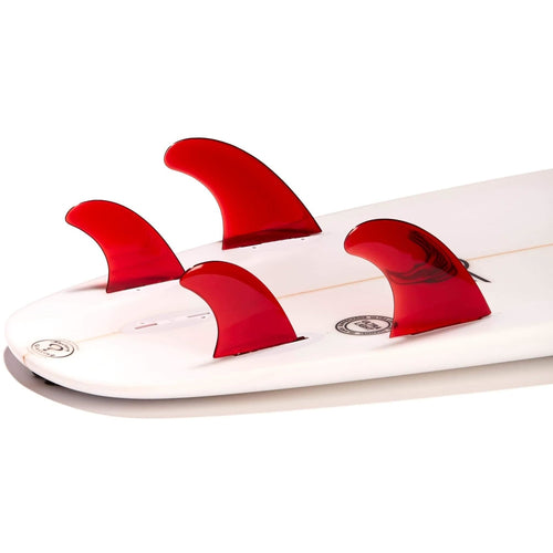 Dorsal Performance Flexrez Core Surfboard Quad Surf Fins (4) FCS Compatible Red - DORSAL?« Surf Shop - Dorsalfins.com?ÇÄ