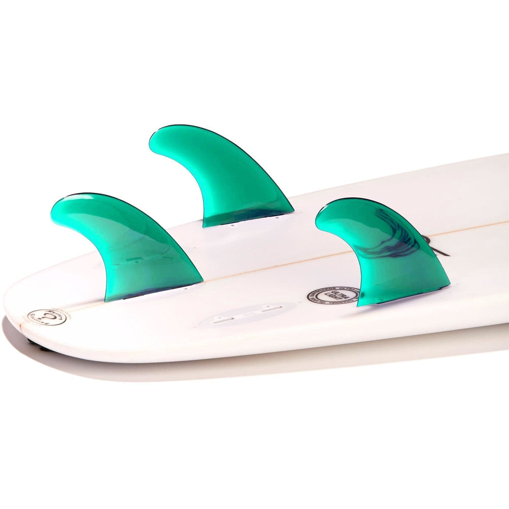 Dorsal Performance Flexrez Core Surfboard Thruster Surf Fins (3) FCS Compatible Aqua - DORSAL® Surf Shop - Dorsalfins.com‎