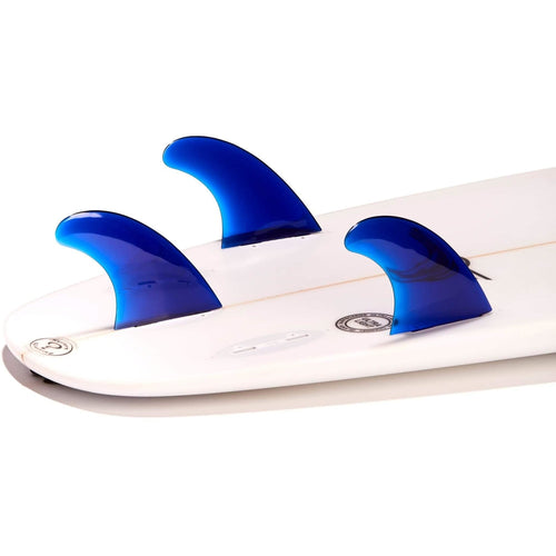 Dorsal Performance Flexrez Core Surfboard Thruster Surf Fins (3) FCS Compatible Blue - DORSAL® Surf Shop - Dorsalfins.com‎