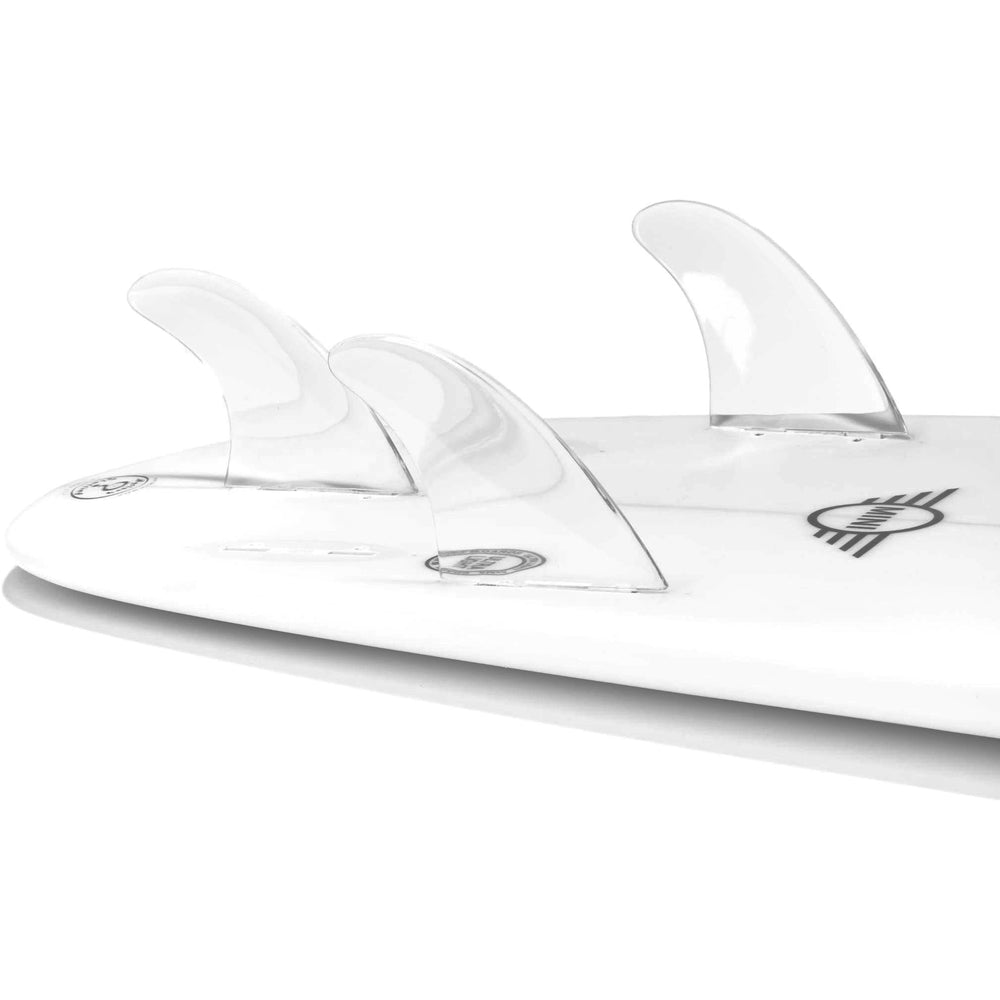 Dorsal Performance Flexrez Core Surfboard Thruster Surf Fins (3) FCS Compatible Clear - DORSAL® Surf Shop - Dorsalfins.com‎