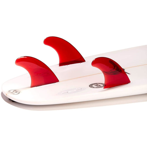 Dorsal Performance Flexrez Core Surfboard Thruster Surf Fins (3) FCS Compatible Red - DORSAL® Surf Shop - Dorsalfins.com‎