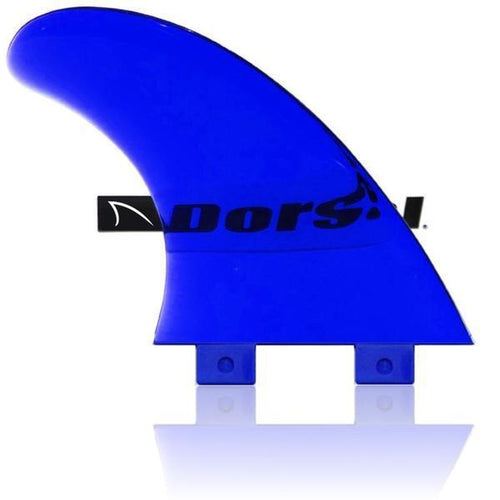 Dorsal Performance Flexrez Core Surfboard Twin Surf Fins (2) FCS Compatible Blue - DORSAL?« Surf Shop - Dorsalfins.com?ÇÄ