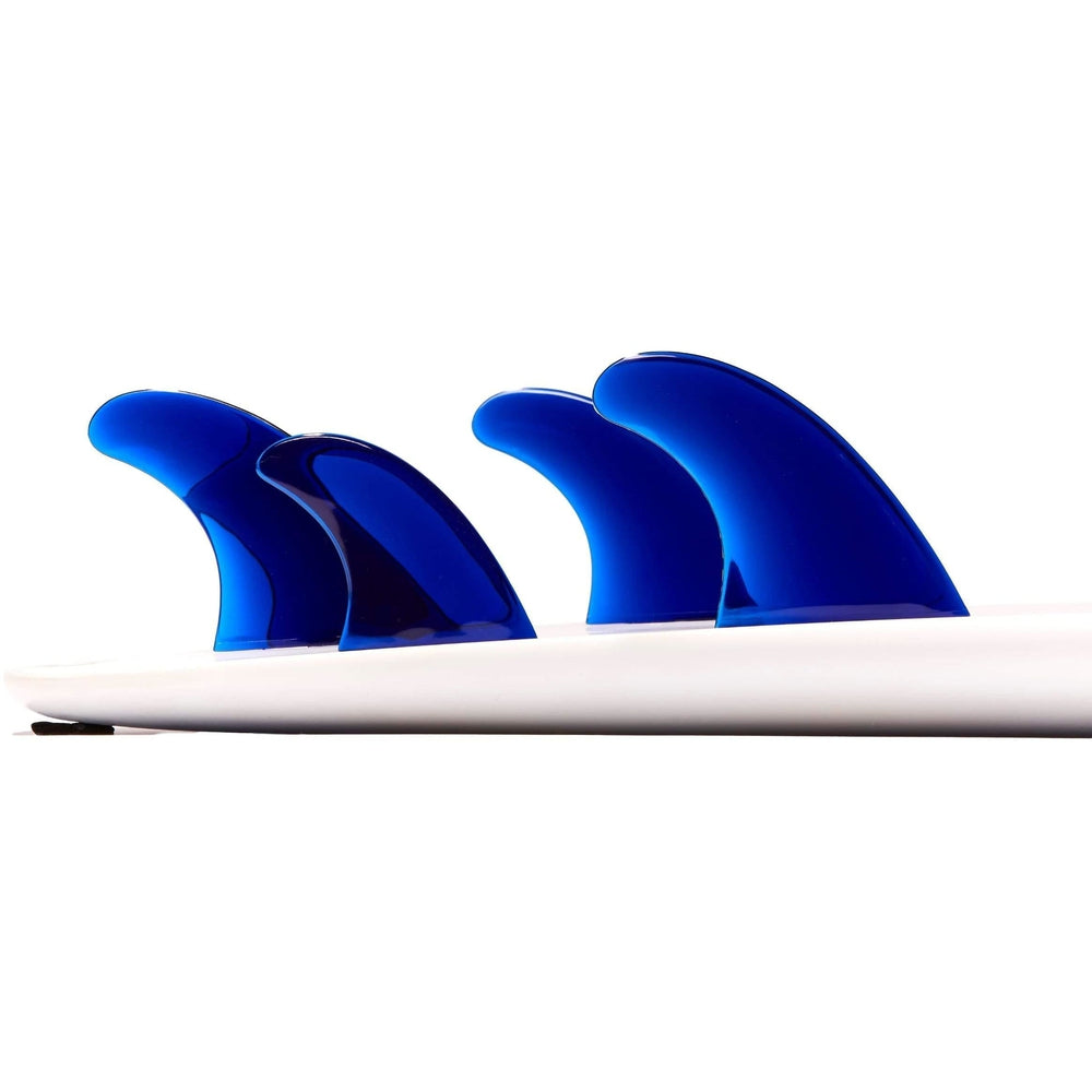 Dorsal Performance Flexrez Surfboard Thruster/Quad Surf Fins (5) FCS Compatible Blue - DORSAL® Surf Shop - Dorsalfins.com‎