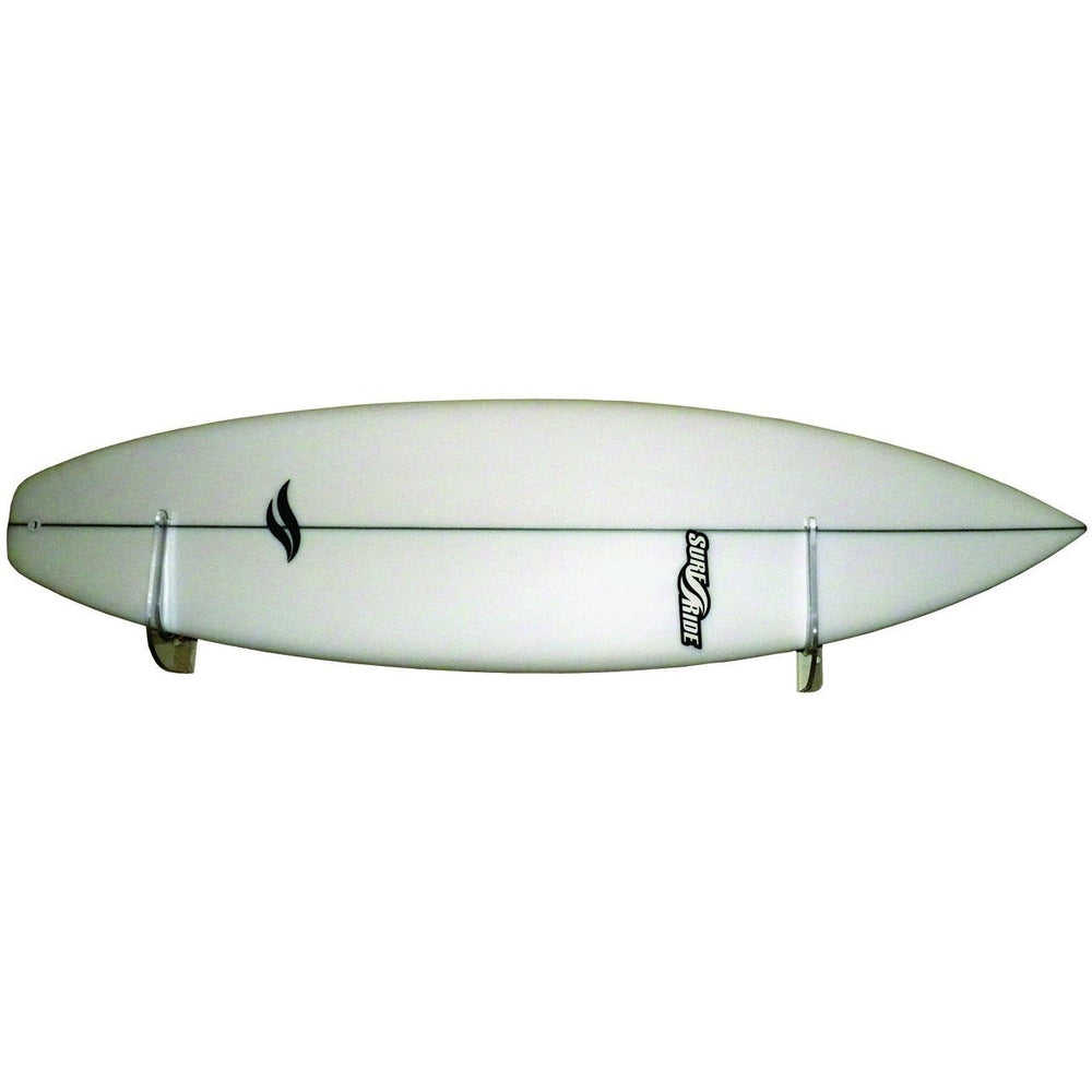 Clear Longboard Snowboard Surfboard and SUP Wall Racks [PAIR]