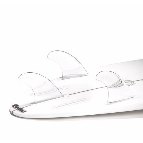 Dorsal Performance Flexrez Core Surfboard Thruster Surf Fins (3) FUT Compatible Clear - DORSAL?« Surf Shop - Dorsalfins.com?ÇÄ