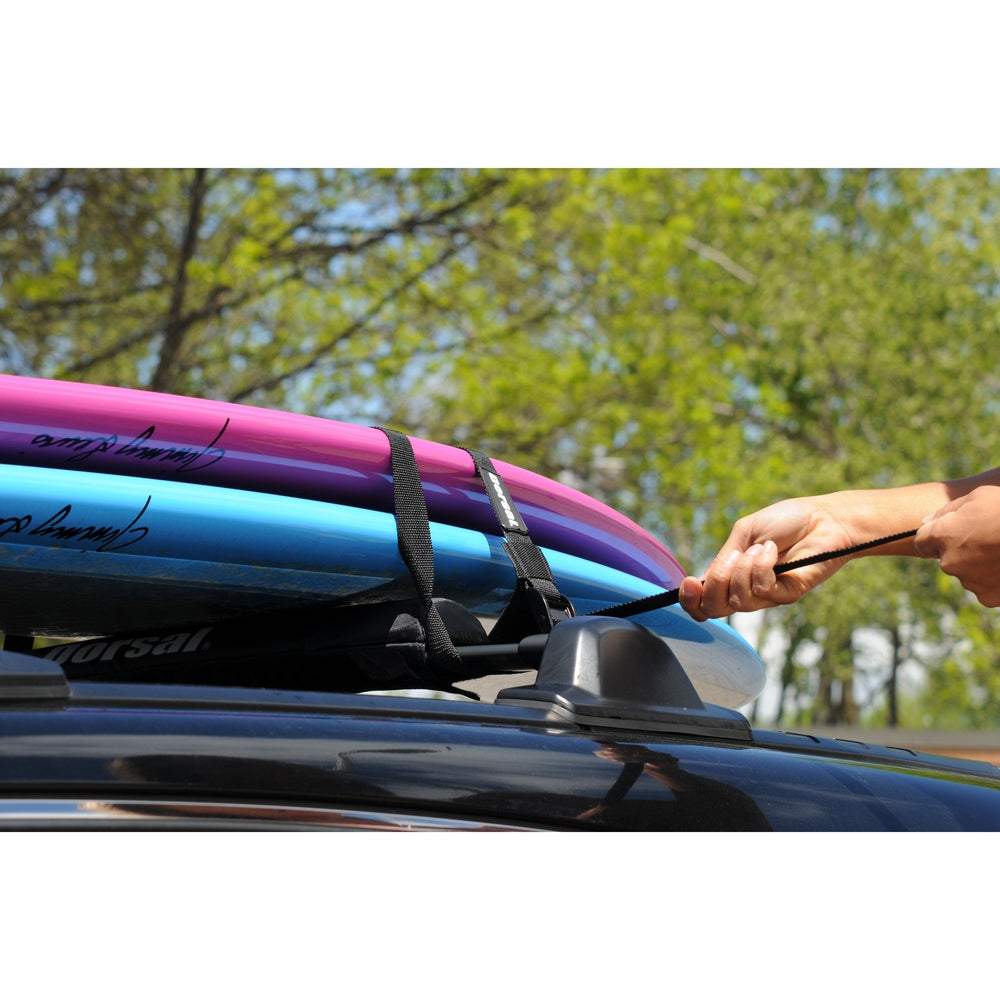 Dorsal Surfboard Kayak Sup Surf Roof Rack Tie Down Straps